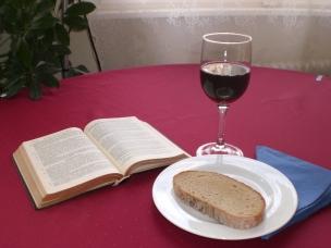 Brot und Wein unser WZ-Tisch