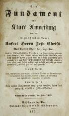Fundamentbuch